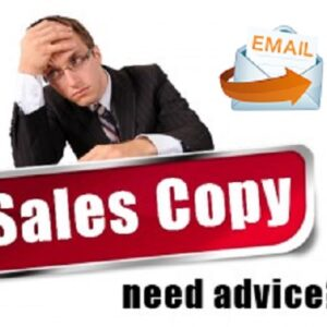 Solo ad Email sales copy writing